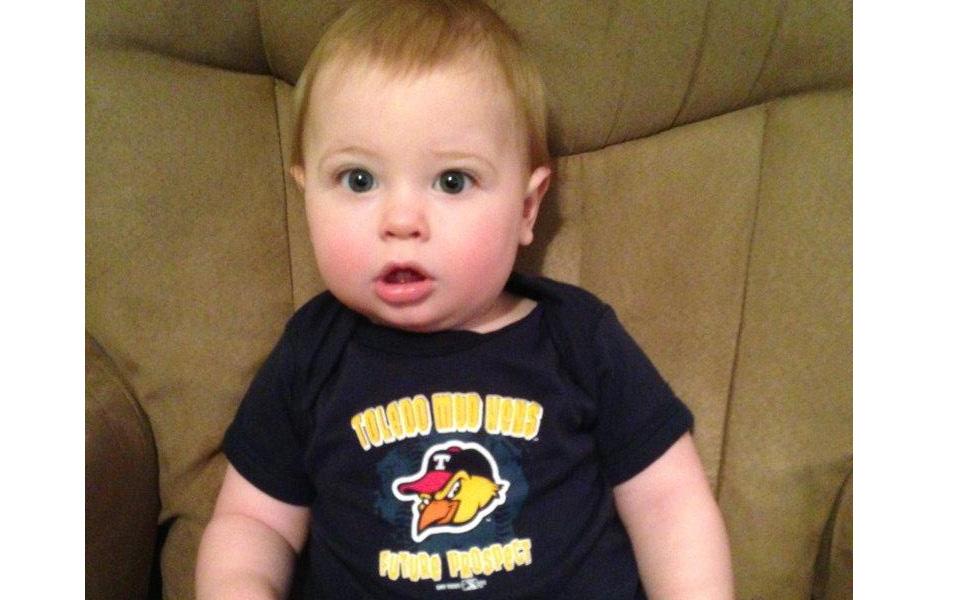 Toledo Mudhens' top fan